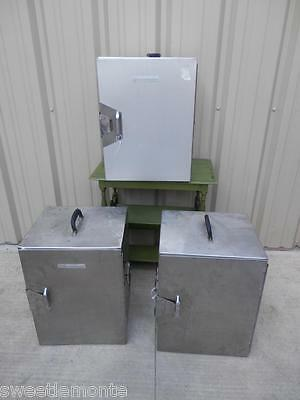 SICO (1) Electric Stainless Steel Food Warmer. (2) none Electric. LOT OF 3