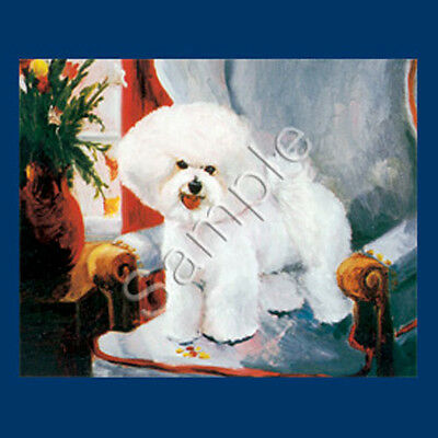 Best Friends Ruth Maystead List Pad & Pencil NEW Bichon Frise