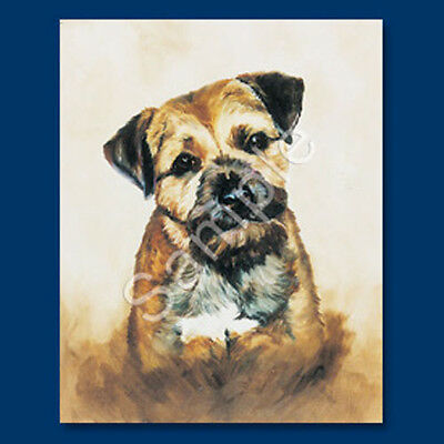 Best Friends Ruth Maystead List Pad & Pencil NEW Border Terrier