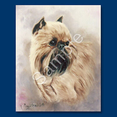 Best Friends Ruth Maystead List Pad & Pencil NEW Brussels Griffon