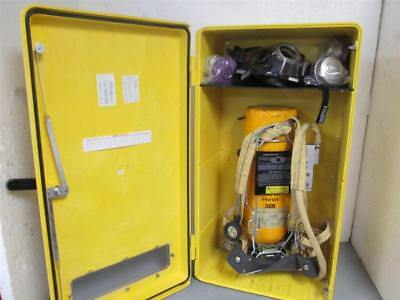 Scott  30 Minute Self Contained Breathing Apparatus Kit w/Encon Wall Cabinet