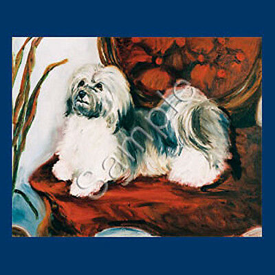 Best Friends Ruth Maystead List Pad Pencil NEW Havanese