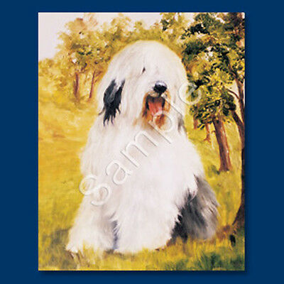Best Friends Ruth Maystead List Pad Pencil NEW Old English Sheepdog