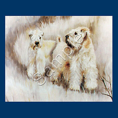 Best Friends Ruth Maystead List Pad & Pencil NEW Soft Coated Wheaten Terrier