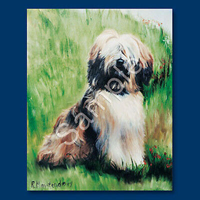 Best Friends Ruth Maystead List Pad & Pencil NEW Tibetan Terrier
