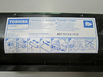Genuine Toshiba T-1640D Black Toner