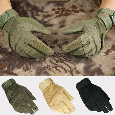 Military Full Finger Gloves Airsoft Hunting Motorcycle Cycling Army Tactical