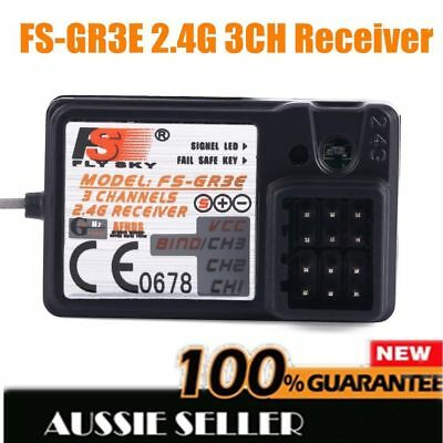 The Standard FS-GR3E 2.4Ghz 3-Channel Receiver for Rc Car Auto Boat New