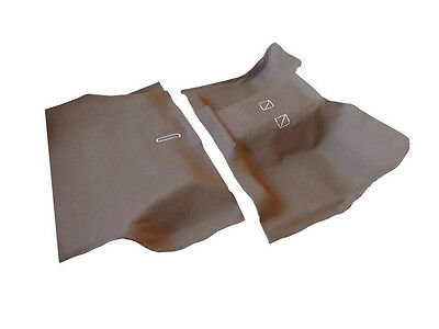 Toyota Land Cruiser 75 Series Moulded Rubber Vinyl Front & Rear Floor
