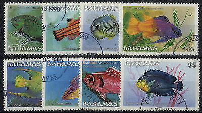Bahamas - SG 759B-772B - 1986-90 - Definitive Set of 8 - Used