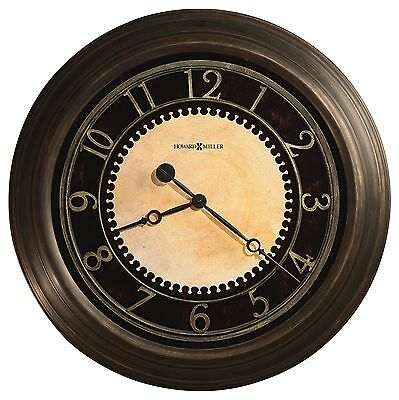 "625-462 Chadwick 25.5"" Howard Miller Wall Clock  In Antique Brass Finish 625462"