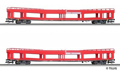 Tillig 01640 Autotransportwagen Set DB AG