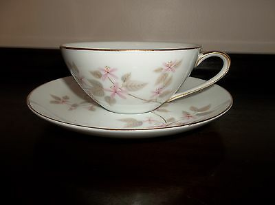 JYOTO FINE CHINA OF JAPAN AIDA PATTERN OCCUPIED JAPAN CUP AND SAUCER SET