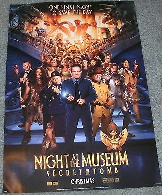 Night At The Museum Secret Of The Tomb  - 14X20 Double Sided Movie Poster