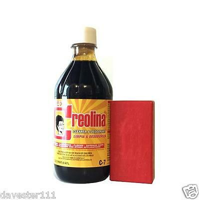 CREOLINA Coal Tar Deodorant Cleaner Odor Remover 16 oz Animal Quarters Cleaner