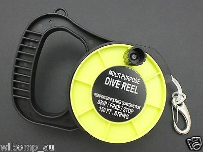 WILCOMP Scuba Diving Dive Reel with Handle WIL-DR-01Y