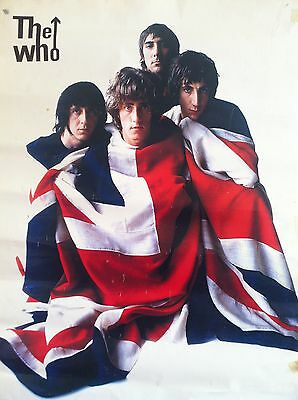 0278 Vintage Music Poster Art  The Who  *FREE POSTERS