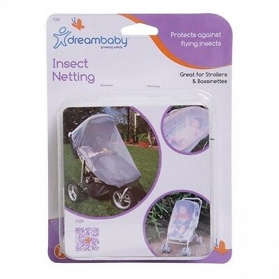 New Dreambaby Stroller Pram Bassinette Insect Mosquito Net Netting Dream Baby