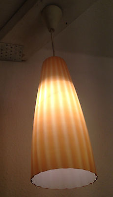 50er 60er Jahre Lampe Glas Design Murano 50s 60s Modern Lamp Light Glass Italy