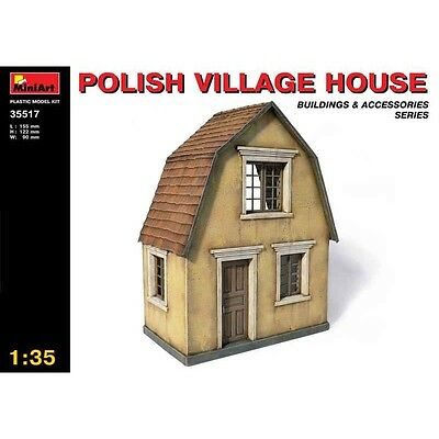 Polish Village House Wwii Diorama 1/35 Miniart 35517