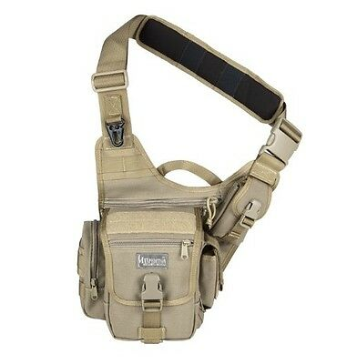 New Authentic Maxpedition Fatboy Versipack Khaki Soft Bag 0403K