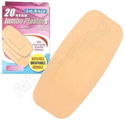200 Assorted Washproof Waterproof Plasters First Aid Bandaid Non Stick Free P&P