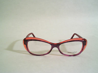 ANDY WOLF EYEWEAR HAND MADE IN AUSTRIA MODEL 5015 col.e BUTTERFLY STYLE
