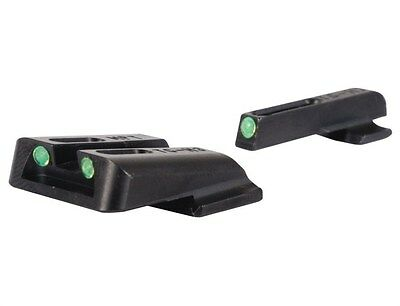 New! Truglo TFO Sight Set S&W M&P SD9/ SD40 Steel Tritium / Fiber Optic TG131MPT