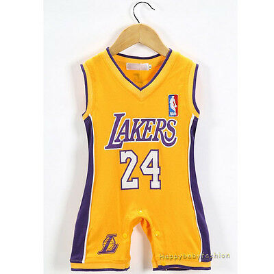 Baby Boy NBA JERSEY Kobe Bryant #24 Los Angeles Lakers Basketball size 00,0,1,2