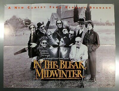 In The Bleak Midwinter - Richard Briers - Original Uk Quad Movie Poster