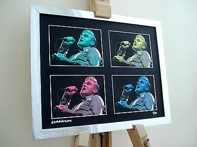 Morrisey The Smiths Ltd Edition Signed Pop Art Canvas