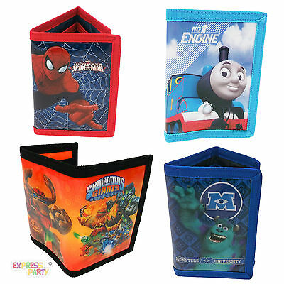 Boys Character Wallet Purse Coin Note Holder