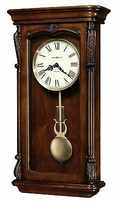 """625-378 """"henderson"""" Howard Miller Wall Clock  Dual Chimes & Auto Night Off625378"""