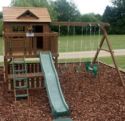 Play Bark Pine for Play Areas and Landscaping Huge 1000 Litre Bulk Bag