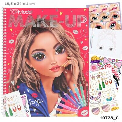 Top Model Sticker Album Bastelset by Depesche Neue Serie 2018