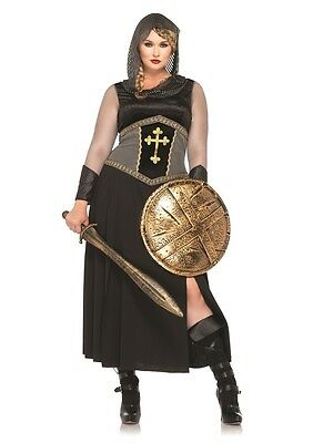 Joan of Arc Adult Womens Plus Size Costume