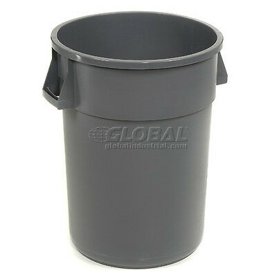 Global Trash Container, Garbage Can - 32 Gallon