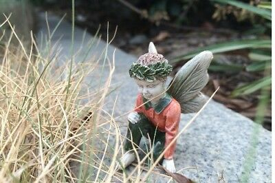 "2"" My Fairy Gardens Mini Figure - Clark - Resin Miniature Boy Figurine Decor"