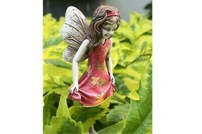 "3"" My Fairy Gardens Mini Figure - Macy in Summer Dress - Miniature Figurine"