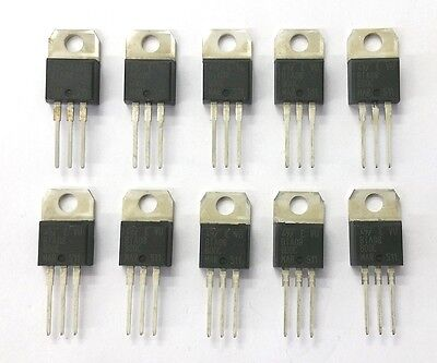 Lot of 10 NEW ST Microelectronics BTA08-600C 8 Amp 8A 600 Volt Triac TO-220AB