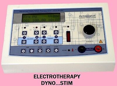 PULSE MASSAGE THERAPY ELECTROTHERAPY, LCD DISPLAY DYNO...STIM DIGITAL UNIT CE1