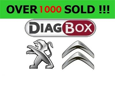 Diagbox 7.83 software for Citroen/Peugeot Lexia 3 interface
