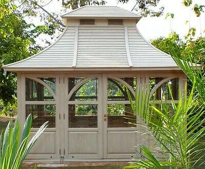 gartenlaube pavillon gartenhaus gazebo orangerie gartenpavillon laube eur. Black Bedroom Furniture Sets. Home Design Ideas