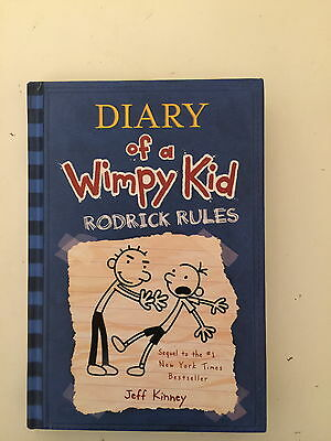Diary of a Wimpy Kid: Rodrick Rules by Jeff Kinney (2008, Hardcover)