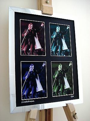 Robbie Williams Take That Ltd Edition Signed Pop Art Canvas