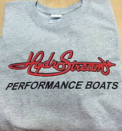 HydroStream  Long sleeve Tshirt 100% Preshrunk Cotton
