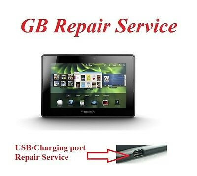 Repair Service for BlackBerry PlayBook Tablet USB Charging Port Connector