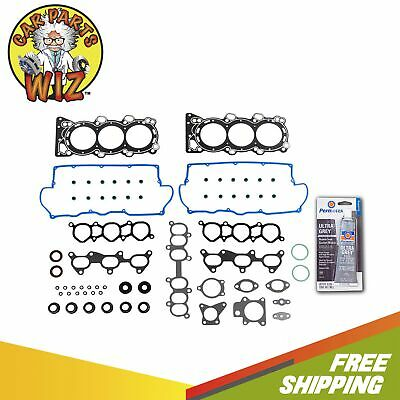 Head Gasket Set Bolts Fits 92-95 Honda Passport  Isuzu Rodeo 3.2L SOHC 24v 6VD1