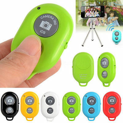 Wireless Bluetooth Remote Control Shutter Self-timer for iPhone 8 7 6s 5 Samsung