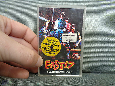 EAST 17_Walthamstow_used cassette_ships from AUS!_C2